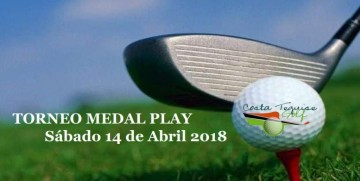 Torneo Medal Play, sábado 14 de Abril 2018. ¡Consigue tu plaza para el Interclub de Anfi Tauro Golf!