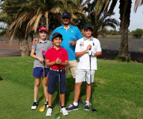 Our children had a hard and warm day during the 4th Qualification Tournament of the Circuito Infantil Insular of Lanzarote
