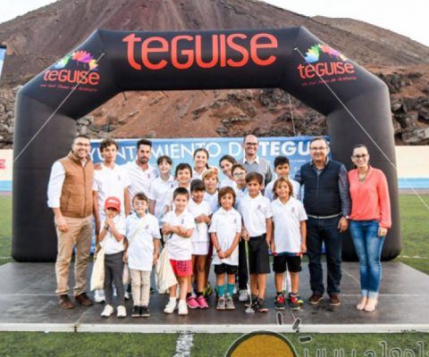 Great Success at the Presentation of the Sport Schools of Teguise, November 17th 2017