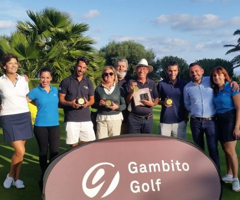 Excellent Scores and friendly atmosphere at the Gambito Golf Premium Tournament