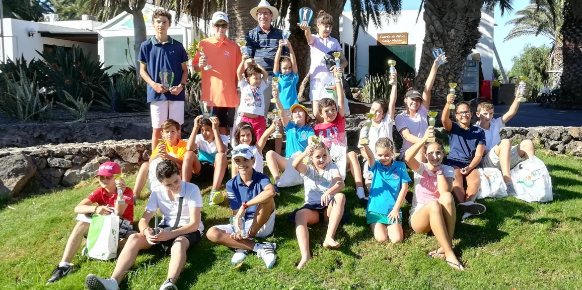 The III Children's Golf Ranking Lanzarote 2018 starts next Sunday, April 15th 2018