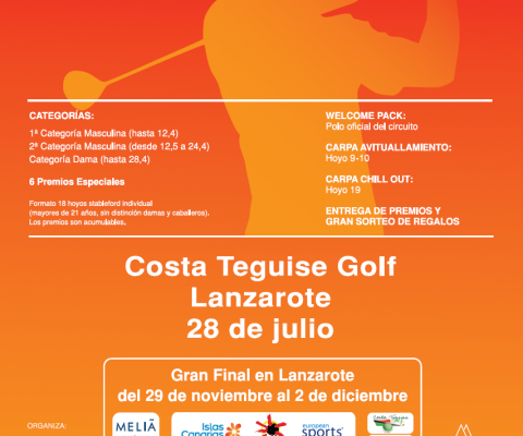 Gambito Golf Championship 2018, Saturday 28th July at Costa Teguise Golf