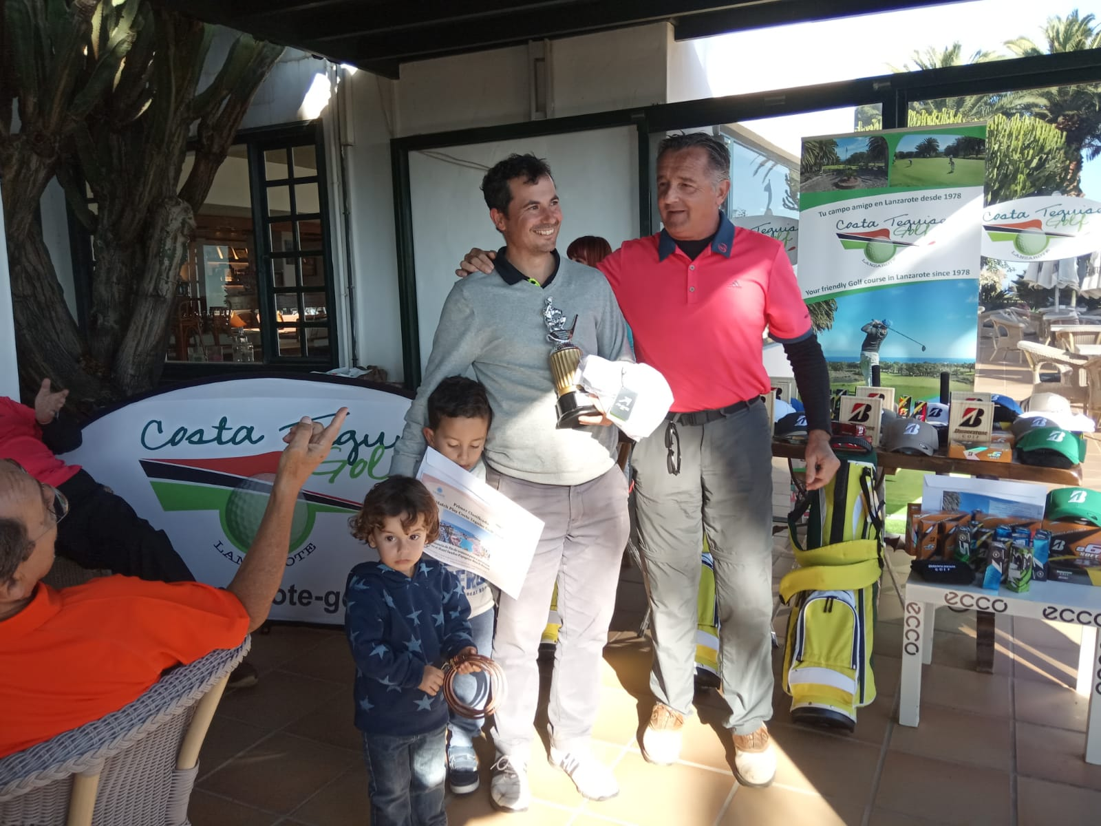 Congratulations to the winners of the Costa Teguise Golf Match Play 2018