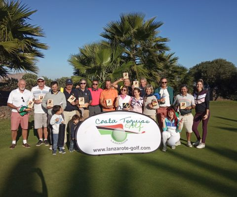 Great Golfing Journey during the VI Bridgestone & Costa Teguise Golf Tournament